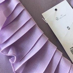 6de95903aebedb Banana Republic Tops - Banana Republic NWT lilac ruffle blouse size s